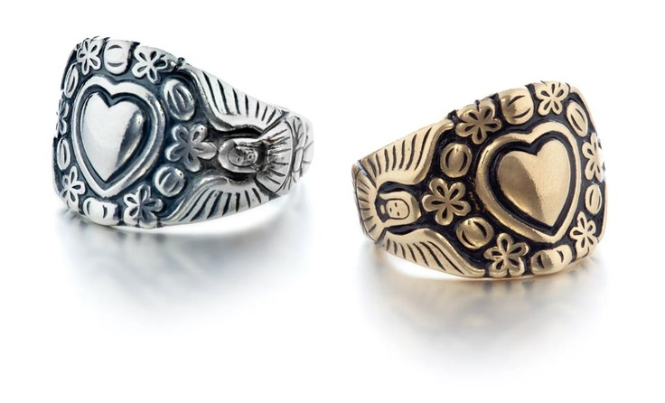 Replica of the Carelian ring from Kivennapa by one of Finland's most renowned jewelry companies | Kalevala Koru, Finland, 115 Kivennavan sormus