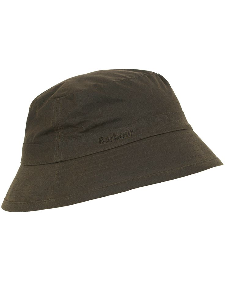 Barbour Lifestyle Wax Sports Hat Olive i gruppen Accessoarer / Kepsar / Hattar hos Care of Carl (10046511r)