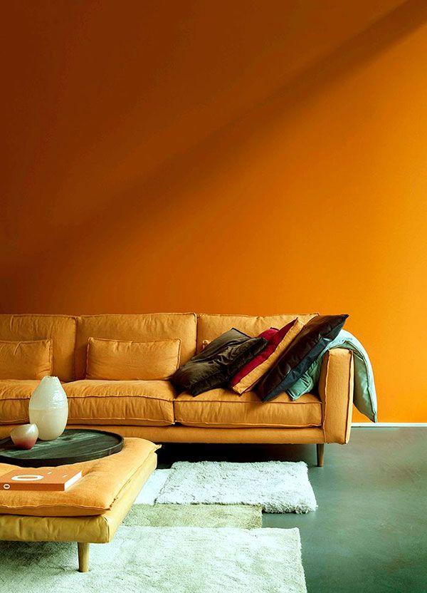 25 beste idee235n over oranje interieur op pinterest