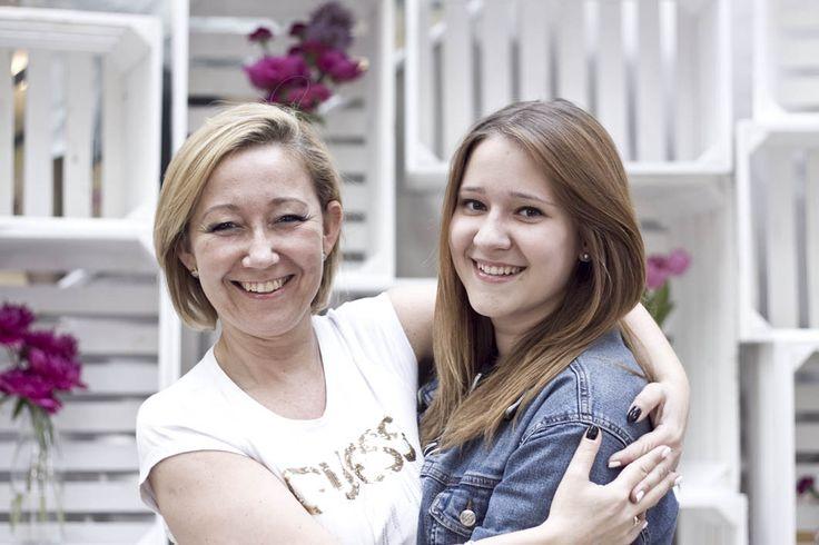 Jak krople wody :) zdjęcia z sesji MiniMe z okazji Dnia Matki. Mama i córka - odzież prywatna