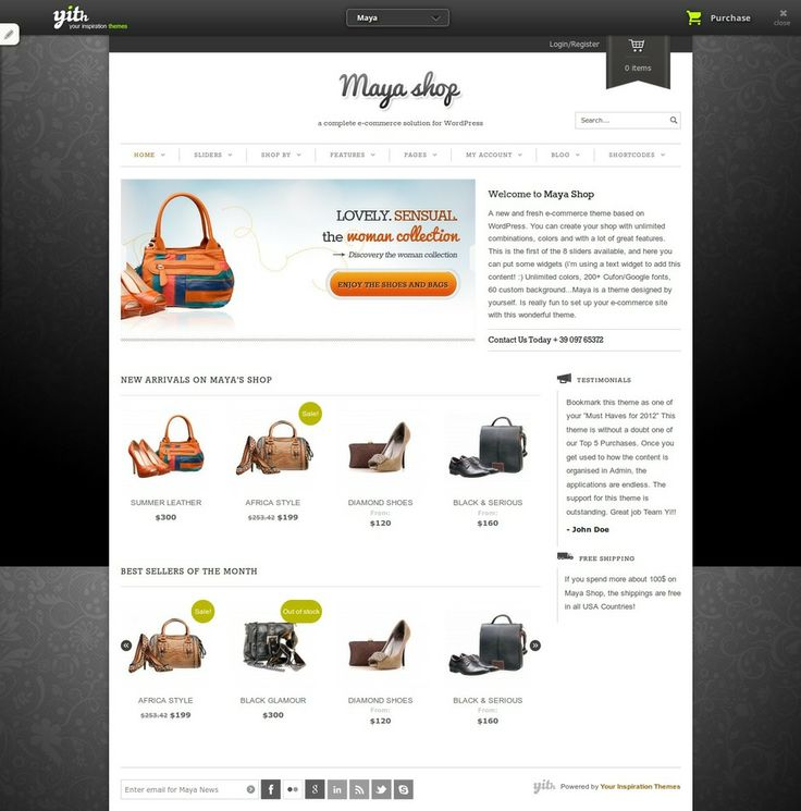 19 best images about Shopping Wordpress Themes on Pinterest | Best ...