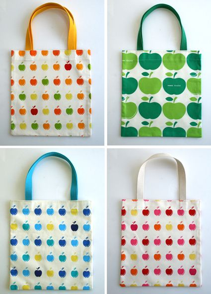 The Twenty MinuteTote - The Purl Bee - Knitting Crochet Sewing Embroidery Crafts Patterns and Ideas!