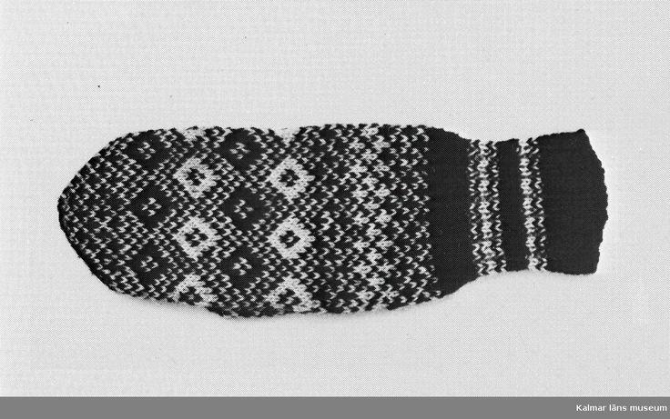 Inventering av Ölandsk stickning 1982.