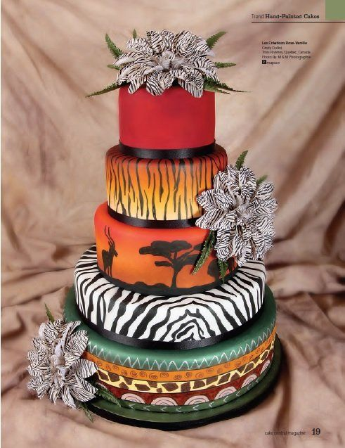 www.facebook.com/cakecoachonline - sharing...african beauty Cake