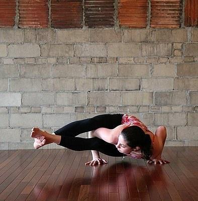 strike a yoga pose eight crooked limbs