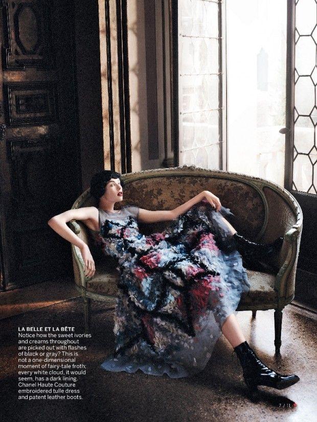cool Edie Campbell por David Sims para Vogue US Setembro 2013   [Editorial]