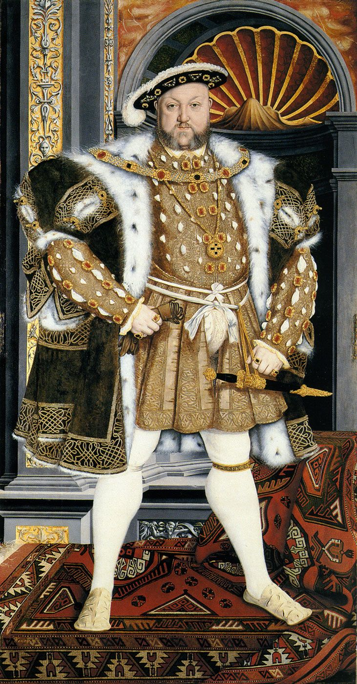 Painting young king | King Henry VIII, after Holbein's Whitehall mural. Petworth House, the ...