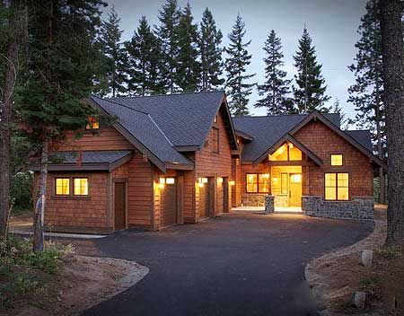 17 best images about cabin plans on pinterest house for Mountain vacation home plans