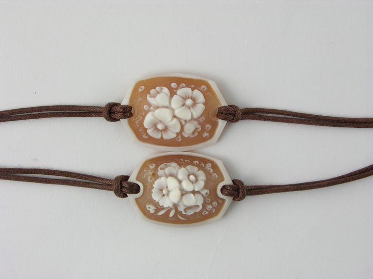 sardonix shell cameo bracelet