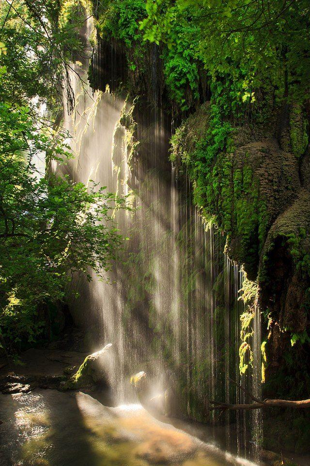 Gorman Falls, Colorado, Texas                                                                                                   by Jeff Lynch