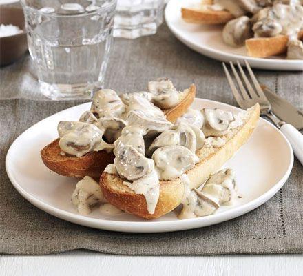 toast and   mens   Mushrooms  Garlic Mushrooms sandals Toast mushrooms on Garlic Recipe