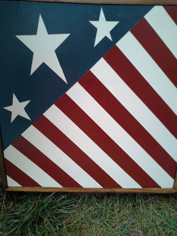 1000 Images About Barn Quilts American Flag Style On