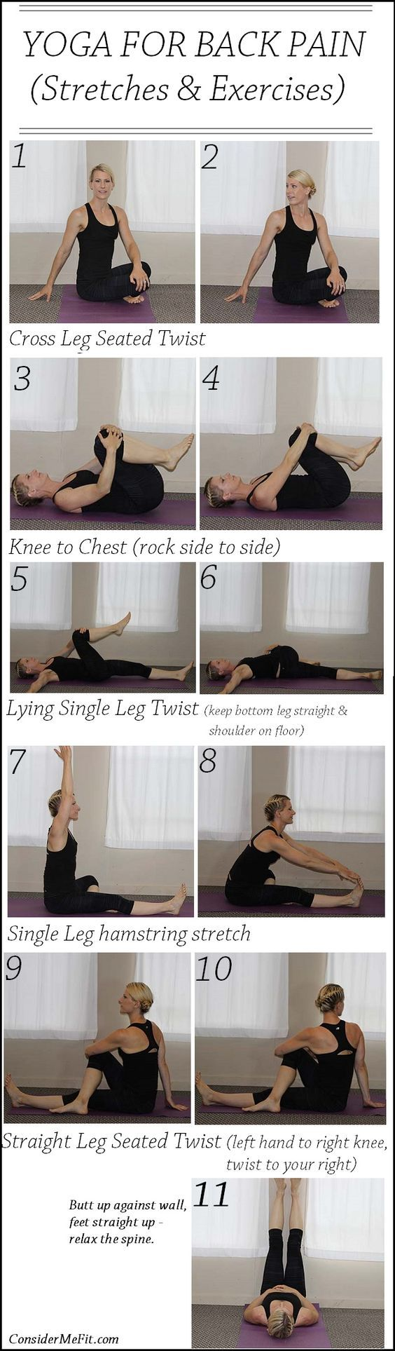 If you suffer lower back pain, this is the post for you! We have compiled a post with the best lower back exercises and you won't want to miss them. We also have a video that shows you how to rehab your back and get on track. You also need to check out the Emotional Body Pain Chart. Check this informative post out now!