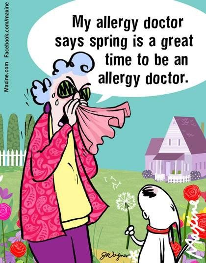 Allergy Season. Maxine. John Wagner.