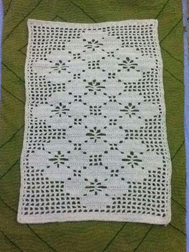 *** Crochet rug                                                       …