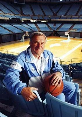 """Dean Smith spent 36 years taking UNC basketball from ""widely recognized"" to national powerhouse."" Quote taken from article on the bleacher report.  GO DEAN!!!"