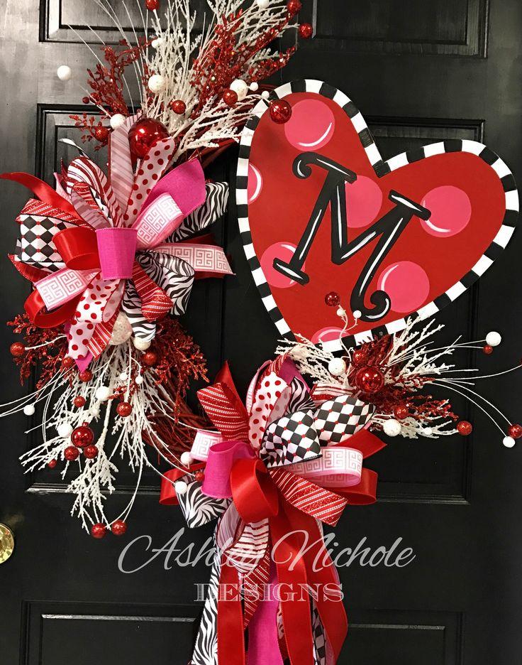Funky Heart Wreath 10 best Valentineu0027s Day