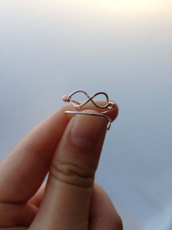 made a couple of wire rings today, and this one's next! (one for me and one for matt!)
