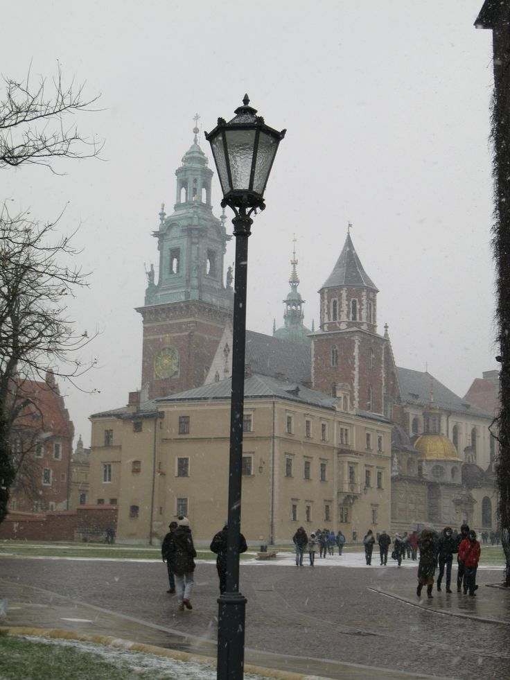 Wawel is a fortified architectural complex erected over many centuries atop a limestone outcrop on the left bank of the Vistula river in Kraków, Poland, at an altitude of 228 metres above sea level.