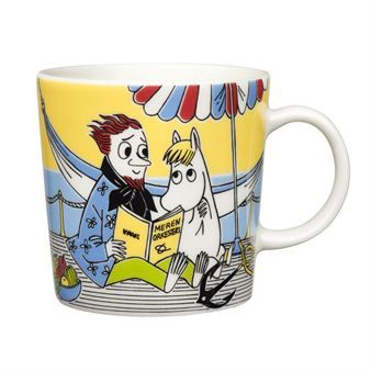 The summer season Moomin mug for 2013 is named Snorkmaiden