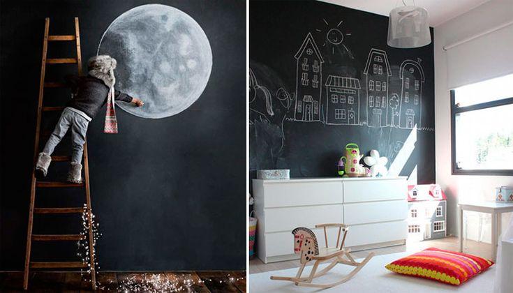 Грифельная и магнитная краска для стен, магнитно-маркерная стена