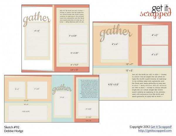 49 best images about scrapbooking templates from gis on pinterest
