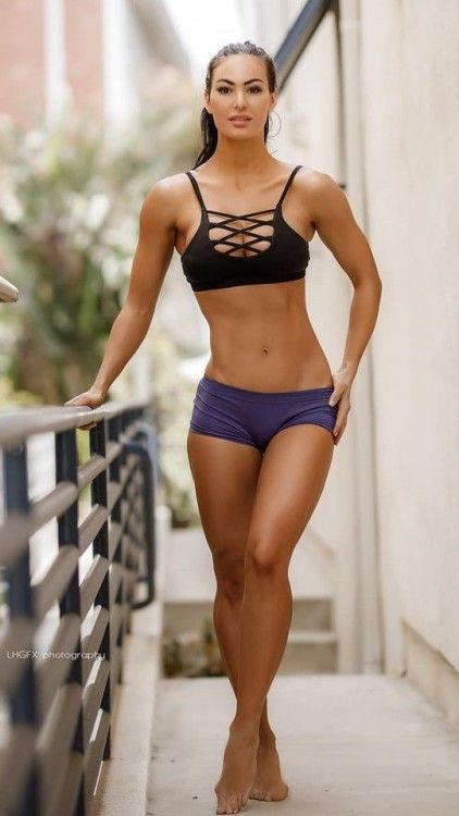 Push It  Fitness Hotties  Gym Girls, Sexy, Bikini Girls-3958