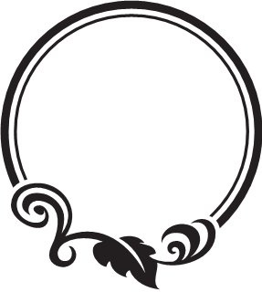 Oval Picture Frames Drawing