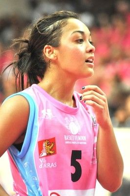 Me fancy her... Leilani Mitchell of New York Liberty