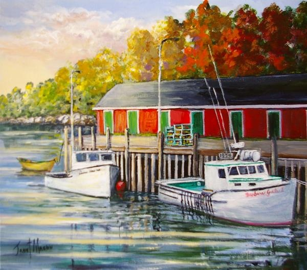 Janet Mason - Tied to the Dockside