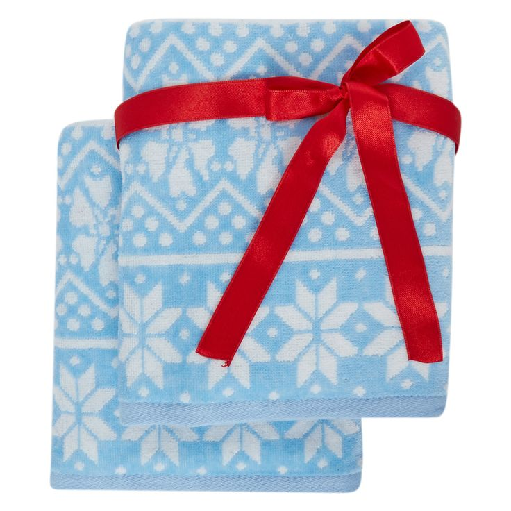Textiles Vertrauen Blue White Hand Towels Tk Maxx