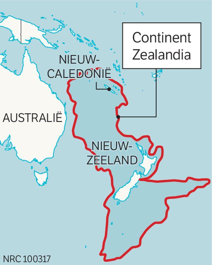 Zealandia, een continent dat bestaat en echt niet pas is ontdekt!