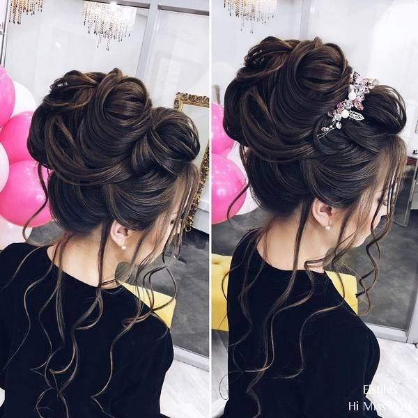 60 Elstile Long Wedding Hairstyles And Updos Wedding Hairstyles For Long Hair Quince Hairstyles Long Hair Styles