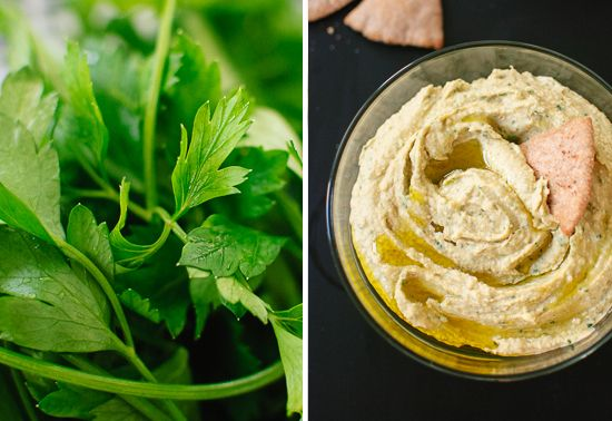 Herby Avocado Hummus Recipe — Dishmaps