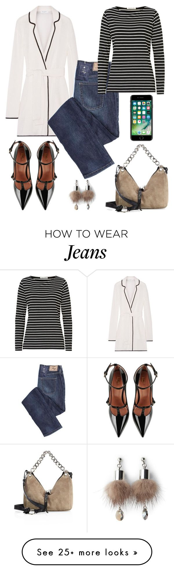 """Keren."" by schenonek on Polyvore featuring Equipment, Jimmy Choo, Betty Barclay, RED Valentino and Simons"