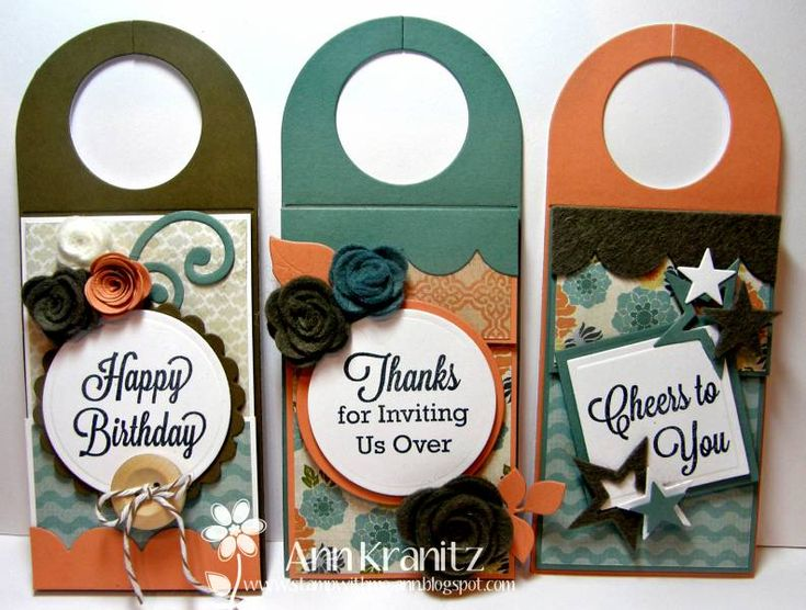 Wine Bottle Tags and add a gift card with them.  Great for last minute gift giving.