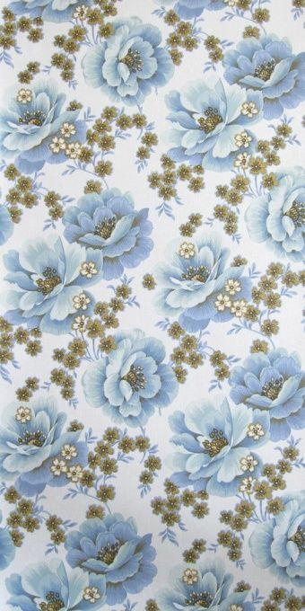 Stiepel | Flower Wallpaper | Vintage Wallpaper | Johnny-Tapete