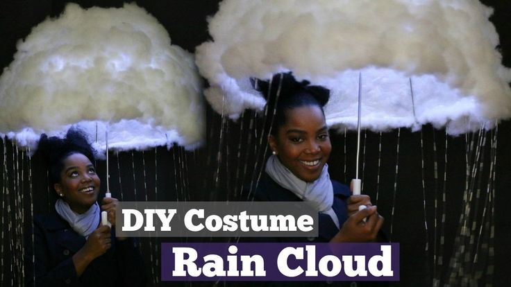 DIY Halloween Costume | Rain Cloud | Melissa Denise