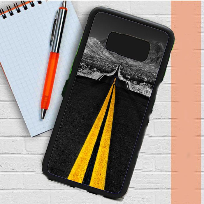 Road Yellow Lines Samsung Galaxy S8 Plus Case Casefreed