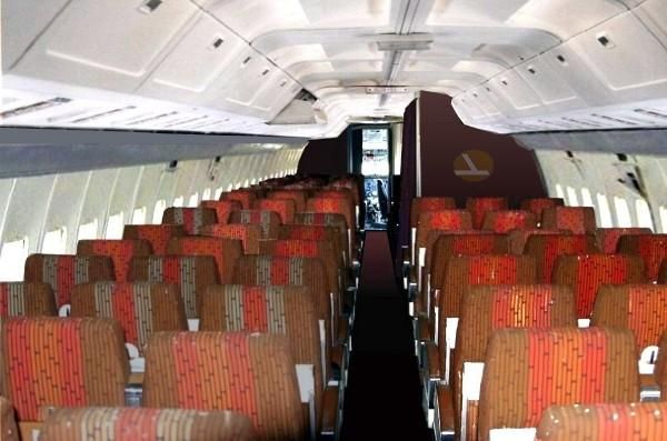 Eal Cabin 727 Aircraft Aircraft Interiors Flight Deck