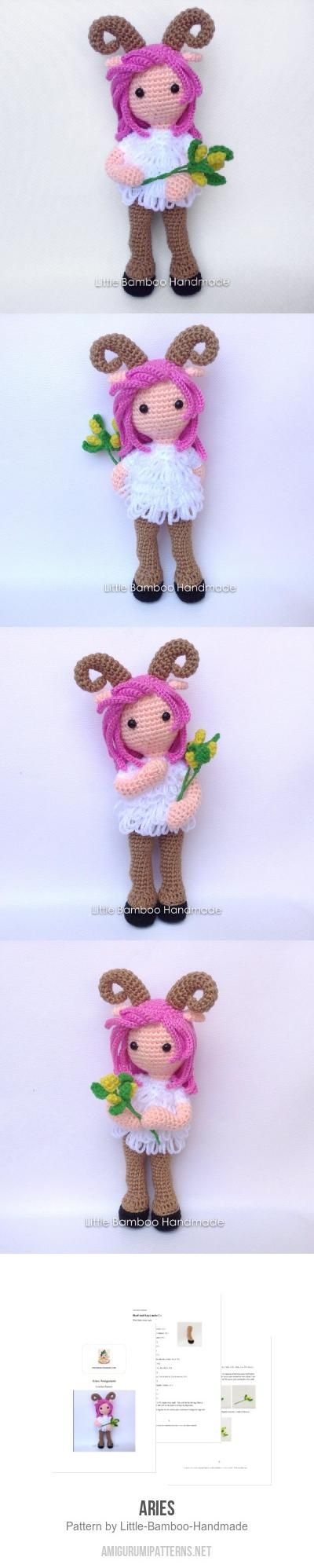 Aries Amigurumi Pattern