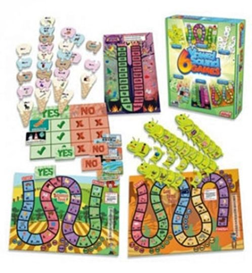 Picture of 6 Vowel Sounds Games
