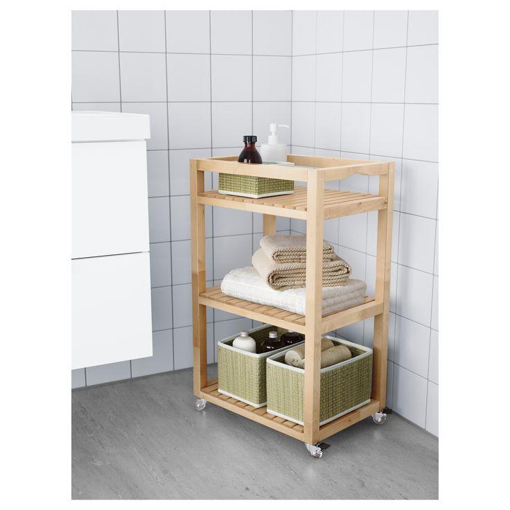 Mer enn 25 bra ideer om Ikea rollwagen på Pinterest - badezimmer rollwagen
