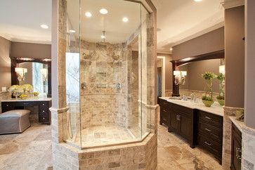 16 best master suite floor plan images on pinterest for His and hers bathroom