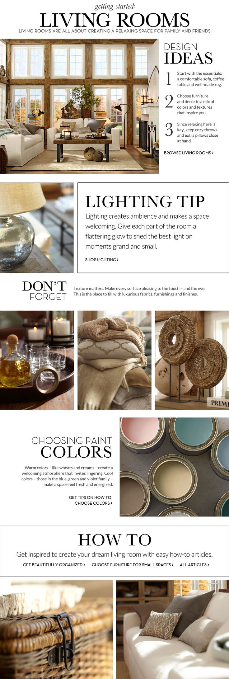 Pottery Barn Living Room Decorating 101 Best Images About Pottery Barn Inspiration On Pinterest