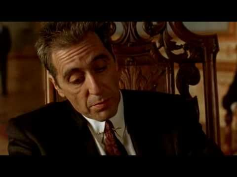 "The Godfather I II III ""I'm going to make him an offer he can't refuse""… ""just when i thought i was out… they pull me back in"""
