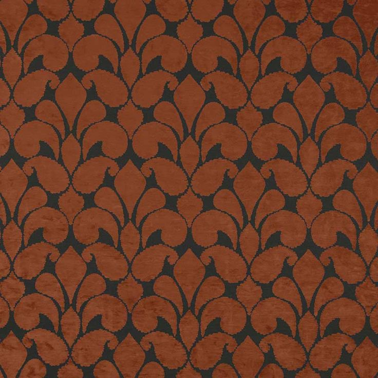 Warwick Fabrics : CALVIN, Colour COPPER