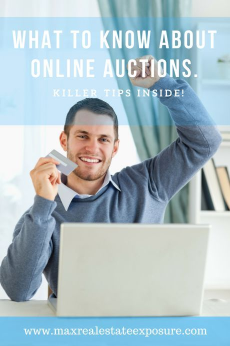 Online Real Estate Auctions...See What You Need to Know at Maximum Real Estate Exposure.