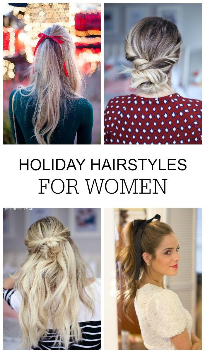 Amazing Holiday Hairstyles For Women Lemon Peony Hair Styles Holiday Hairstyles Womens Hairstyles