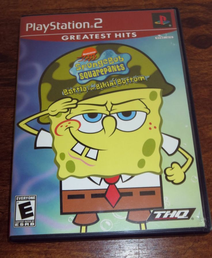 Spongebob battle for bikini bottom playstation